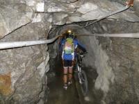 Stockalperweg, passaggio all'interno delle gallerie del Forte di Gondo