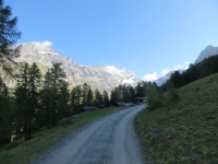 Salita alla Rinderhütte