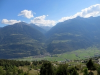 Valle del Rodano - la piana di Turtmann