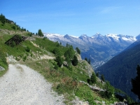 Dalla Faldumalp ad Ober Meiggen - Grandi Panorami sulla Lötschental