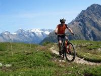 Lungo il fantastico trail che collega Oberi Meiggen con Stafel