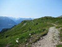 Fantastico trail che collega Oberi Meiggen con Stafel