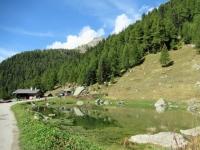Laghetto alpino presso la Fafleralp