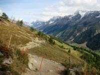 Il sentiero che dalla Hockenalp sale alla Kummenalp