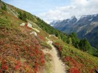 Il tratto finale del sentiero per Kummenalp