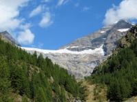 Fafleralp - Vista sul Talgletscher