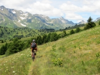 Trail in direzione di Croce Portera