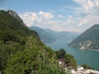 Monte San Salvatore e Lago di Lugano