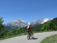 Salita per il Rifugio Alpino La Chardouse - vista sullo Chaberton