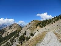 Strada che collega La Seyte con il Gondran e lo Janus
