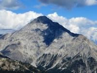 Monte Chaberton visto dallo Janus