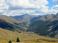 La valle di Les Chalps e Les Fonds percorrendo il sentiero per il Lago Gignoux