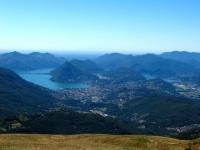 Lago di Lugano dalla Capanna Monte Bar
