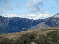 Panorama dalla Capanna Monte Bar - Il Gruppo del Mischabel