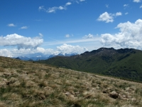 Panorama EST dalla Capanna Monte Bar - Prealpi comasche e lecchesi