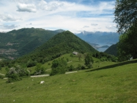 Alpe di Cerano e Lago di Como
