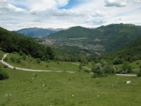Panorama su valle d'Intelvi