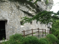 Fortificazioni Linea Cadorna sul Sasso Gordona