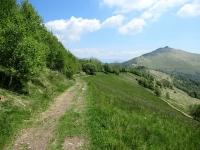La traccia proveniente dal Monte Boletto in direzione del Monte Bolettone