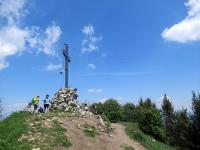 La cima del Monte Bolettone