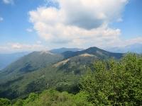 Il Monte San Primo al centro del Triangolo Lariano - Panorama dalla sommità del Monte Bolettone