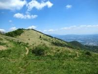 Monte Bolettone e la pianura comasco-lecchese (Lago di Pusiano)