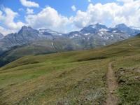 Il panoramico sentiero che conduce a Furggerchaeller