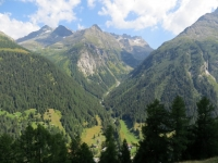 Panorama sulla Chriegalptal ed i rilievi che delimitano il Vallese dalla Valle Devero