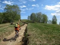 In direzione della sommità del Monte del Falò seguendo il segnavia VR3