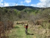 Bel panorama sul Monte Mottarone percorrendo il sentiero/segnavia nr. 15