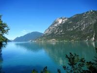 Lago Ceresio (parte svizzera in direzione di Lugano)