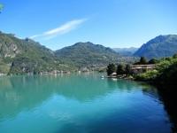 Lago Ceresio (parte italiana in direzione di Porlezza)