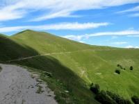Ultimo tratto di salita per il Rif. Venini dall'Alpe di Lenno