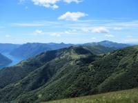 Panorama sul Passo di Boffalora dal Colle del Tremezzo
