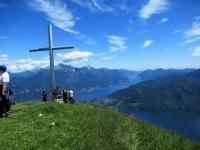 Sulla cima del Monte Crocione (mt. 1.641)