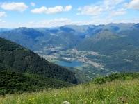 Panoramica sulla Riserva del Lago del Piano (Porlerzza)