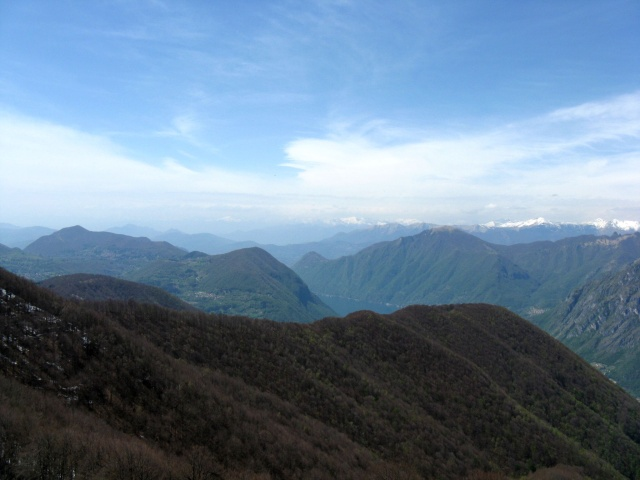 Panorama dall\'Alpe di Lenno