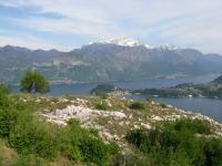 Discesa verso Tremezzo - panorama su Bellagio