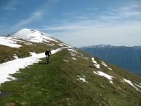 In direzione del Monte di Tremezzo