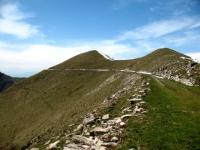 Passaggio lungo la cresta tra il Venini ed il Tremezzo