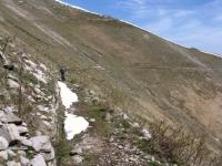 Single-track lungo le pendici del Tremezzo