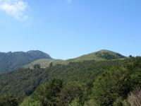 Panorama sull'Alpe Colmine e sul Monte Cucco