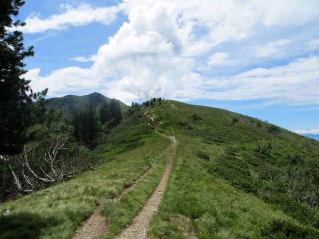Bassa di Indemini, sullo sfondo il Monte Gradiccioli