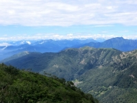 Il Monte Paglione e La Forcola visti dalla Bassa di Indemini