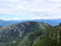 Il Monte Gambarogno visto dalla Bassa di Indemini