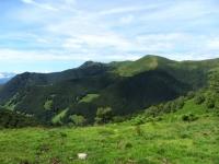 Poncione di Breno e Monte Magno visti da La Bassa