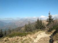 Vetta del Monte Lema - panorama su prealpi svizzere