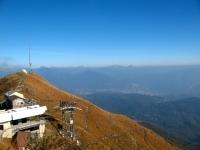 Vetta del Monte Lema - panorama sul Malcantone con Grigna sullo sfondo