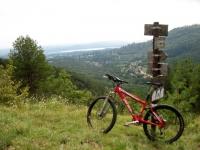 Pian Valdes, vista sulla pianura varesina con il Lago di varese ed il Lago di Comabbio
