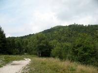 Pian Valdes, vista sul Monte Chiusarella